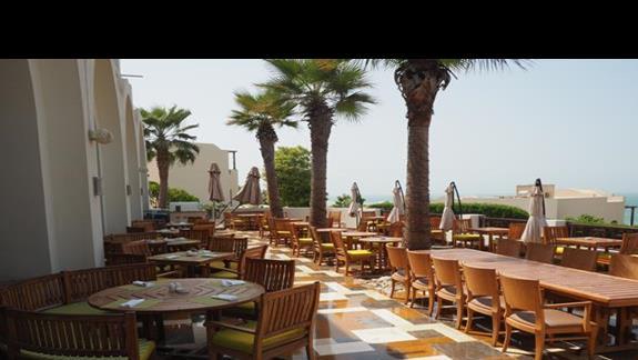 Taras restauracji głównej