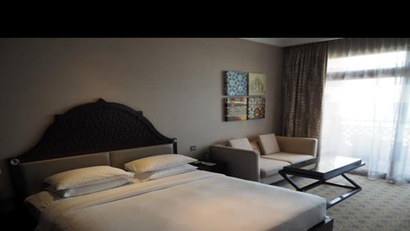 Sypialnia pokoju typu suita