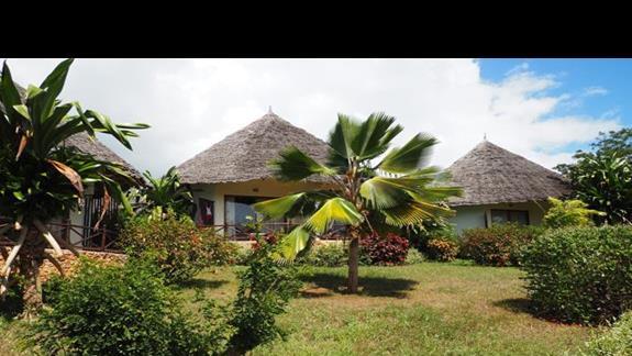 Domki z pokojami Pwani
