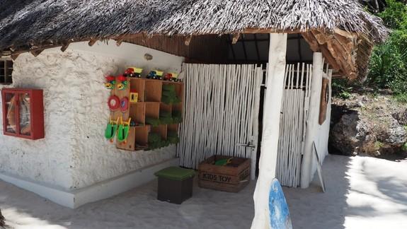Strefa dla dzieci na plaży
