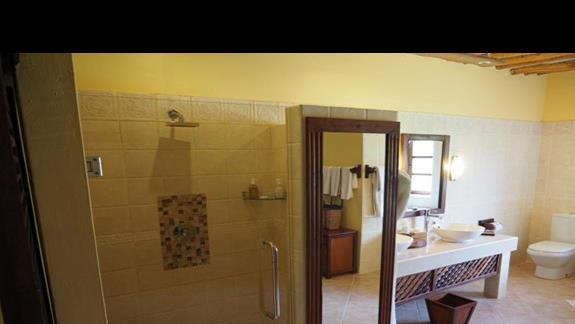 Łazienka w pokoju superior