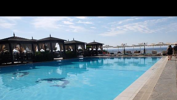 basen w hotelu Coralli Beach