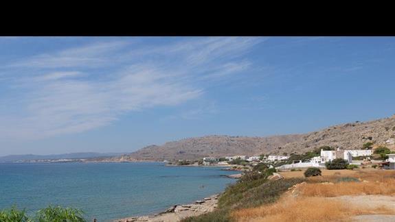 widok z hotelu Coralli Beach