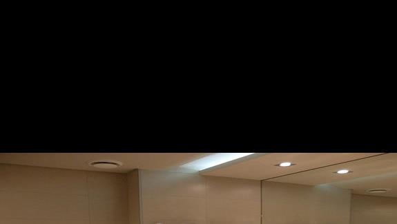 łazienka w pokoju typu standard w hotelu Princess Adriana