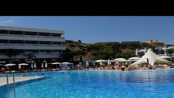 basen w hotelu Princess Adriana