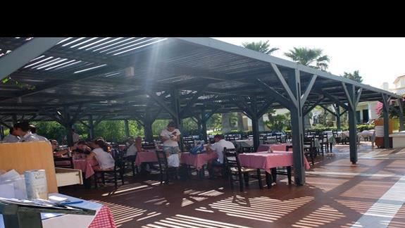 restauracja w hotelu Mitsis Rodos Maris