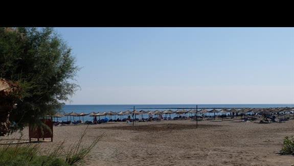 plaża w hotelu Mitsis Rodos Maris