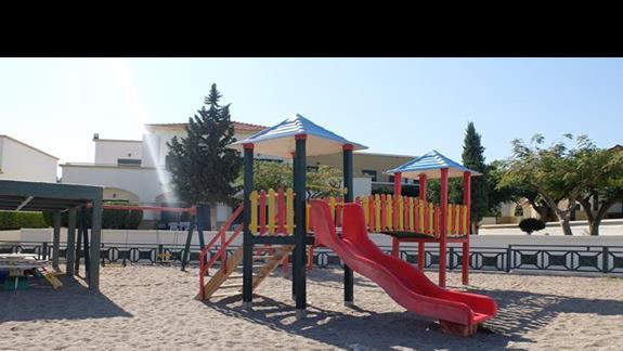 plac zabaw w hotelu Mitsis Rodos Maris