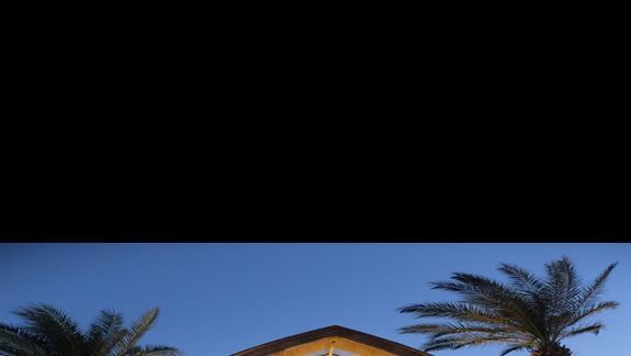 wejście do hotelu Lindos Princess