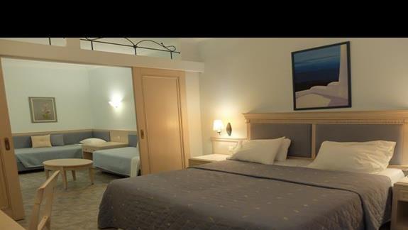 pokój rodzinny w hotelu  Lindos Princess