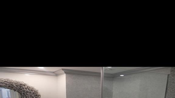 łazienka w pokoju standard w hotelu Mitsis Alila