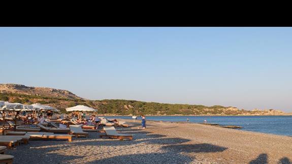 plaża w hotelu Mitsis Alila