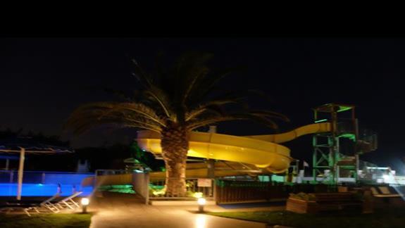 zjeżdzalnia w hotelu Mitsis Faliraki