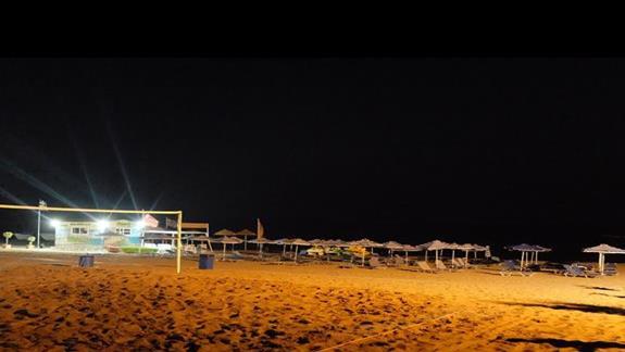 plaża w hotelu Mitsis Faliraki
