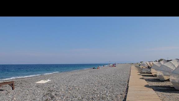 plaża przy hotelu Kipriotis Village