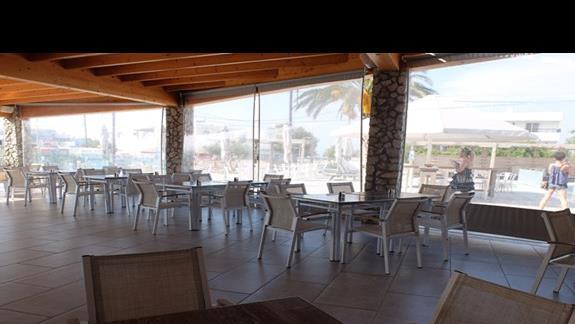 restauracja w hotelu Thalasea Beach Resort