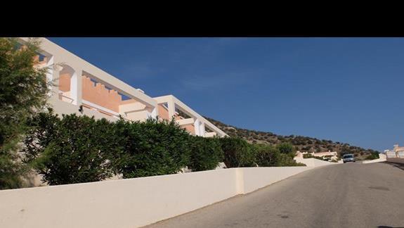 otoczenie hotelu Mitsis Family Village