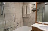 Hotel Mitsis Blue Domes Exclusive Resort & Spa - łazienka w pokoju standardowym w hotelu Mitsis Blue Domes
