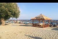 Hotel Mitsis Blue Domes Exclusive Resort & Spa - plaża w hotelu Mitsis Blue Domes