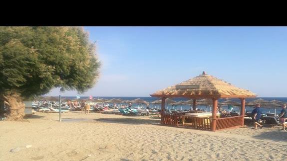 plaża w hotelu Mitsis Blue Domes