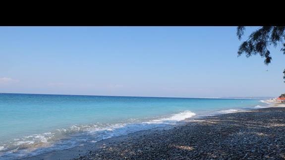 plaża przy hotelu Ocean Blue Seaside Resort