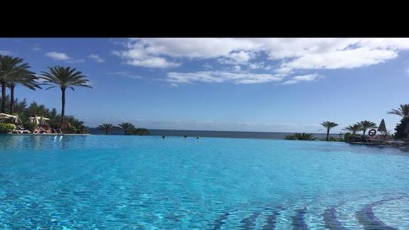 widok z basenu na OCEAN :)