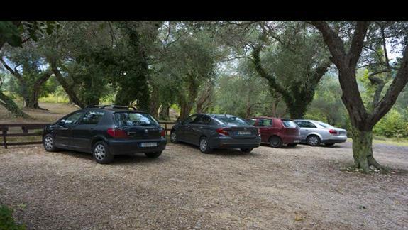 Parking dla gości hotelowych