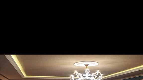 Recepcja, hol hotelu Onufri