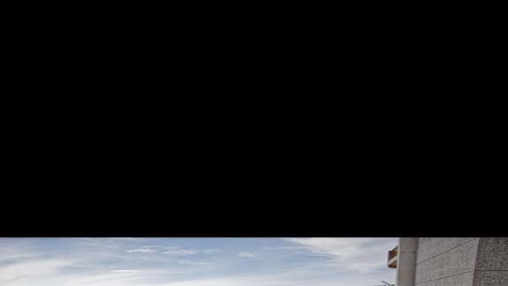 Widok  balkonu w hotelu Sun