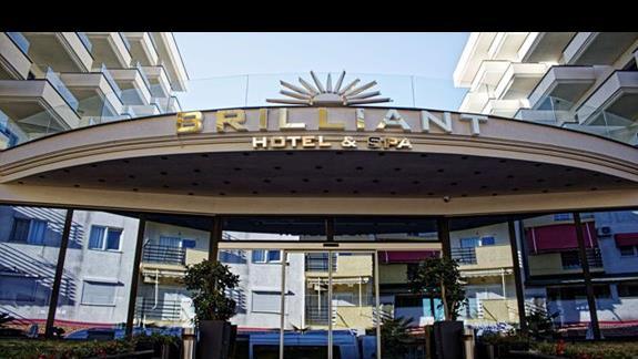 Front hotelu Brilliant