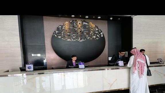 Steigenberger Dubai - recepcja