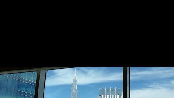 Steigenberger Dubai - przykładowy widok z pokoju