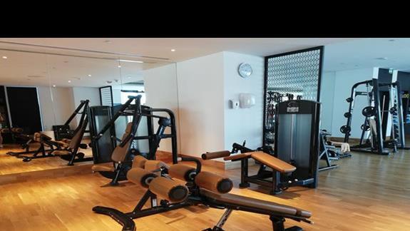 Steigenberger Dubai - siłownia