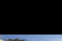 Hotel Palm Beach - Widok z pokoju na ogród