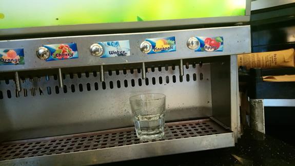 Z tej maszyny powinny lac sie soki a byla TYLKO WODA FUJJJJ