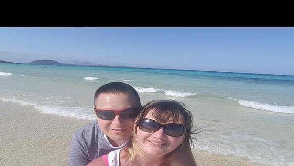Przy najpiekniejszej plazy przy Hotelu Riu Oliva Villge