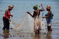 Hotel Orangea - kobiety lowiace ryby