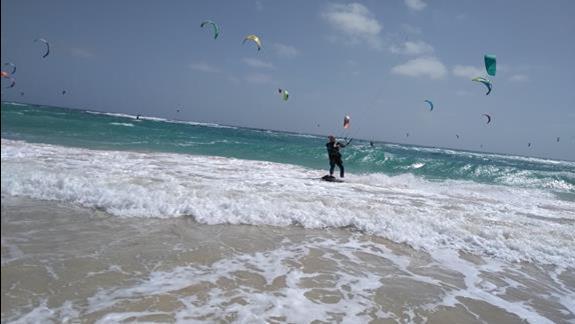Plaża kajtów