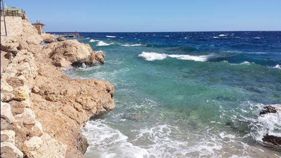Morze jest rzadko takie wzburzone
