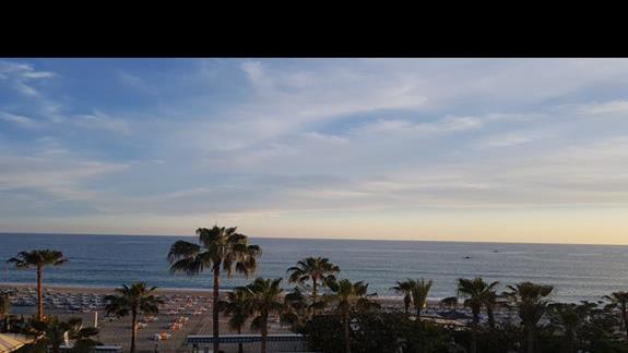 zdjęcie z balkonu hotelu