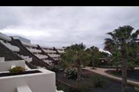 Hotel Los Zocos - widok z balkonu pokoju
