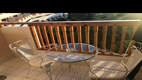 balkon w pokoju standardowym