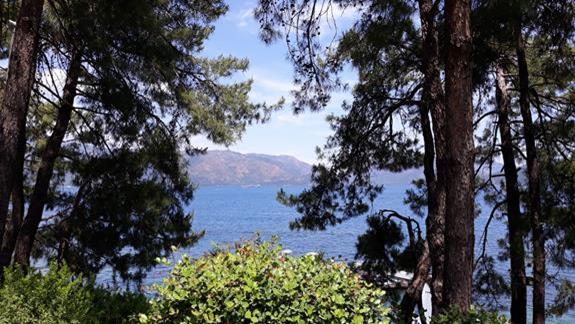 widok z balkonu Labranda Mares Marmaris