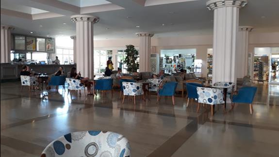 recepcja i lobby hotelu Labranda Mares Marmaris