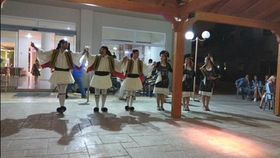 Wieczór grecki w hotelu