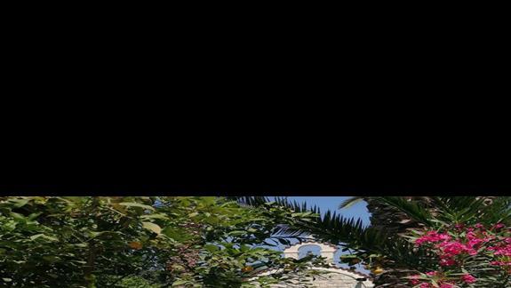 Kapliczka znajdujaca sie na terenie hotelu