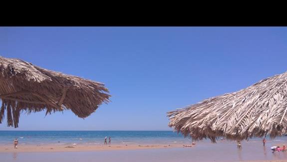 Plaża hotelowa