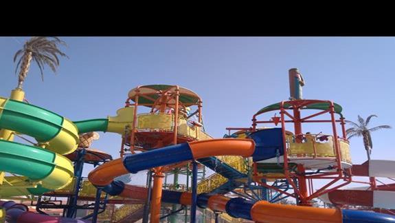 Aqua Park w hotelu Ali Baba