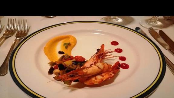 Przystawka w restauracji francuskiej