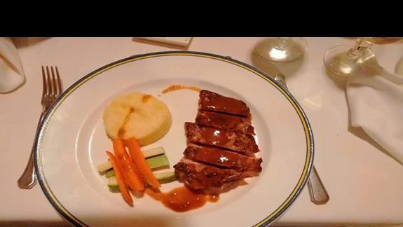 Obiad w restauracji francuskiej